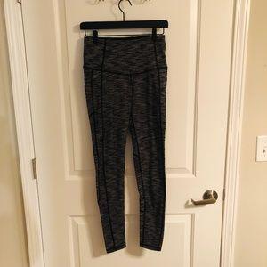 Heathered Gray VSX Yoga Pants with Pockets